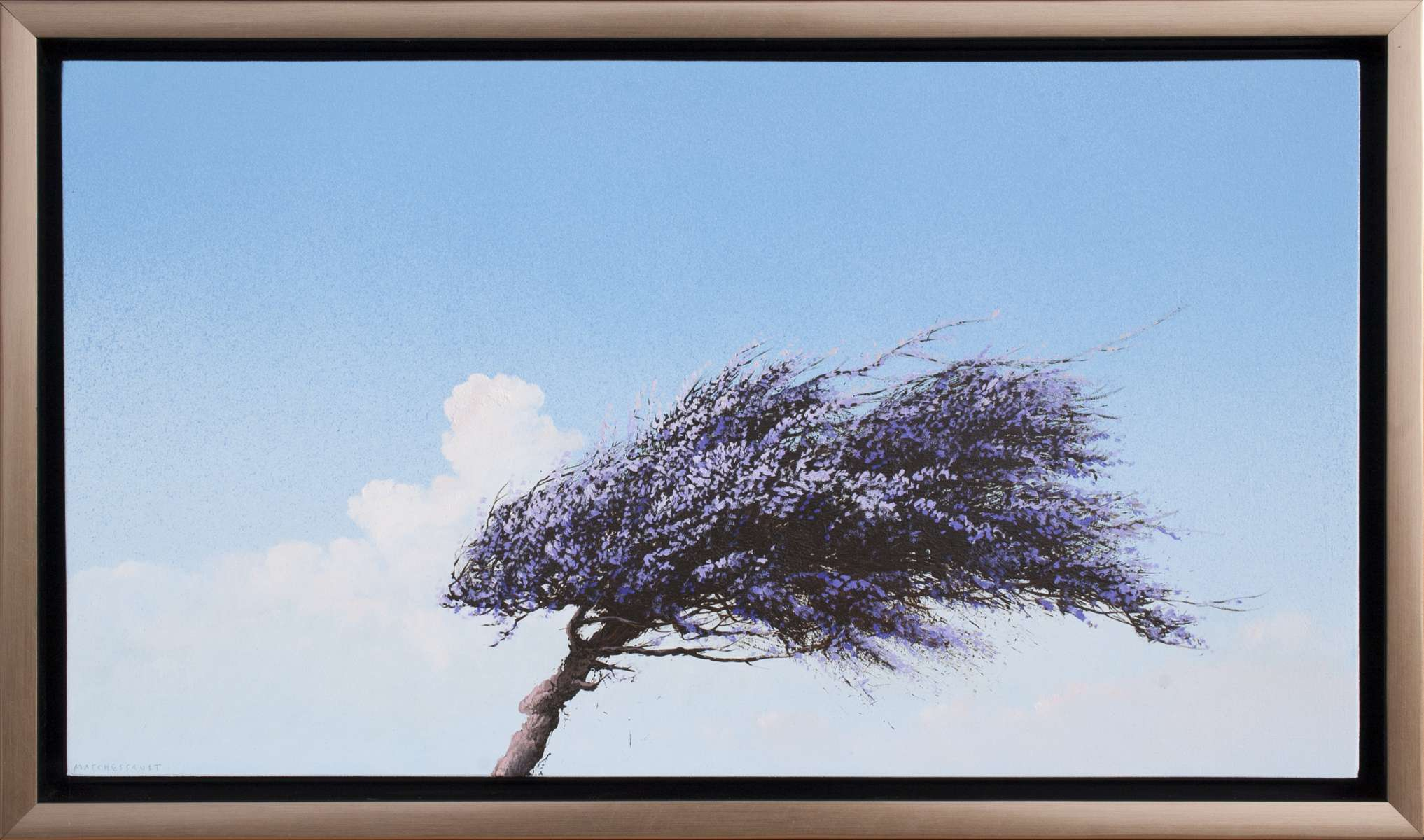Small Jacaranda by Robert Marchessault
