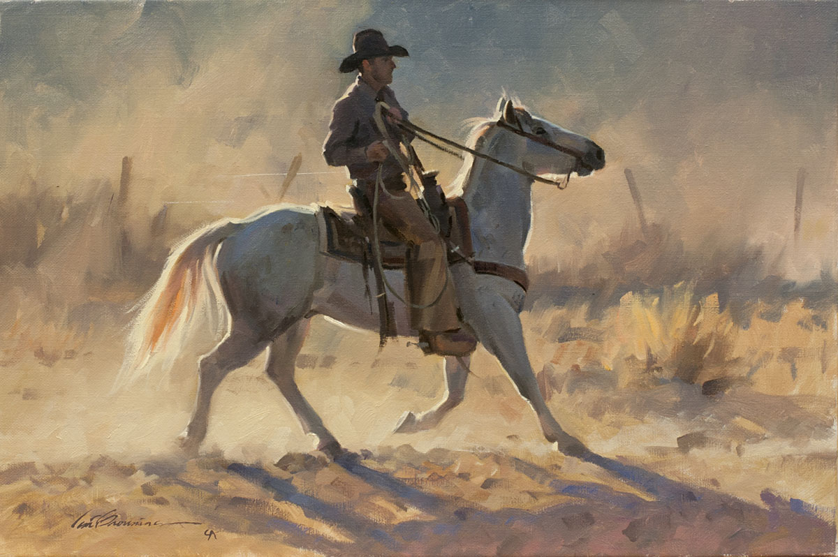 Paintings by Cowboy Artist Tom Browning