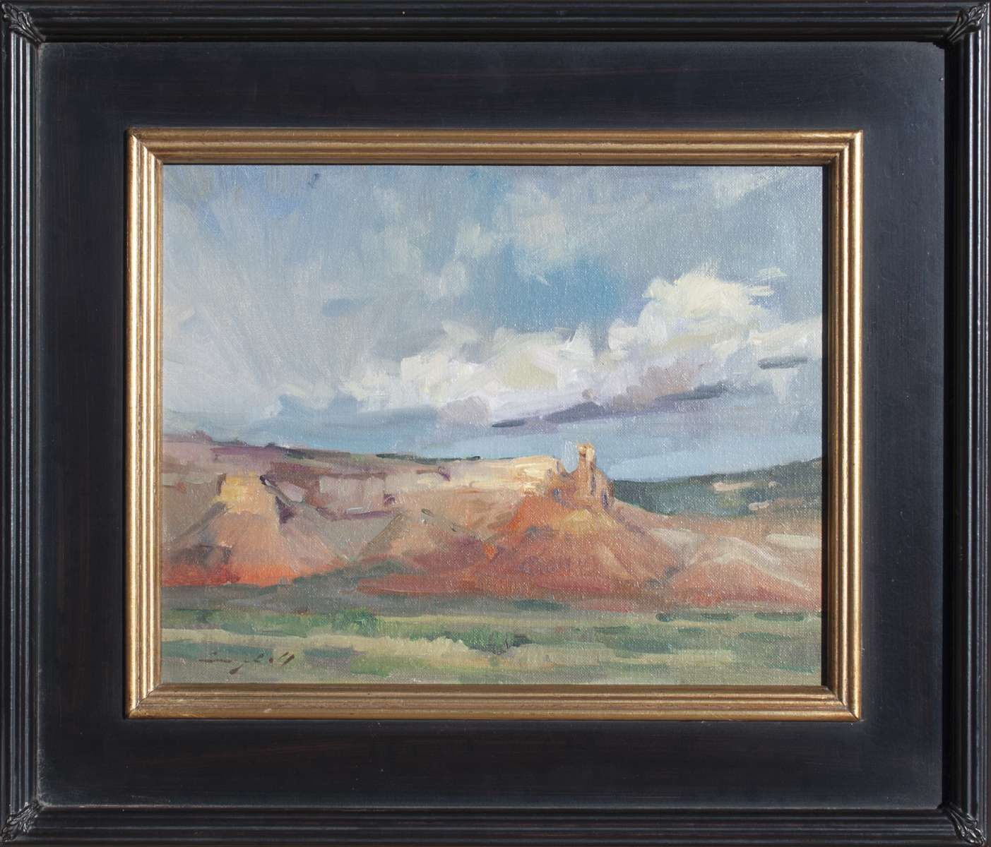 Abiquiu Afternoon painting by Peter Campbell