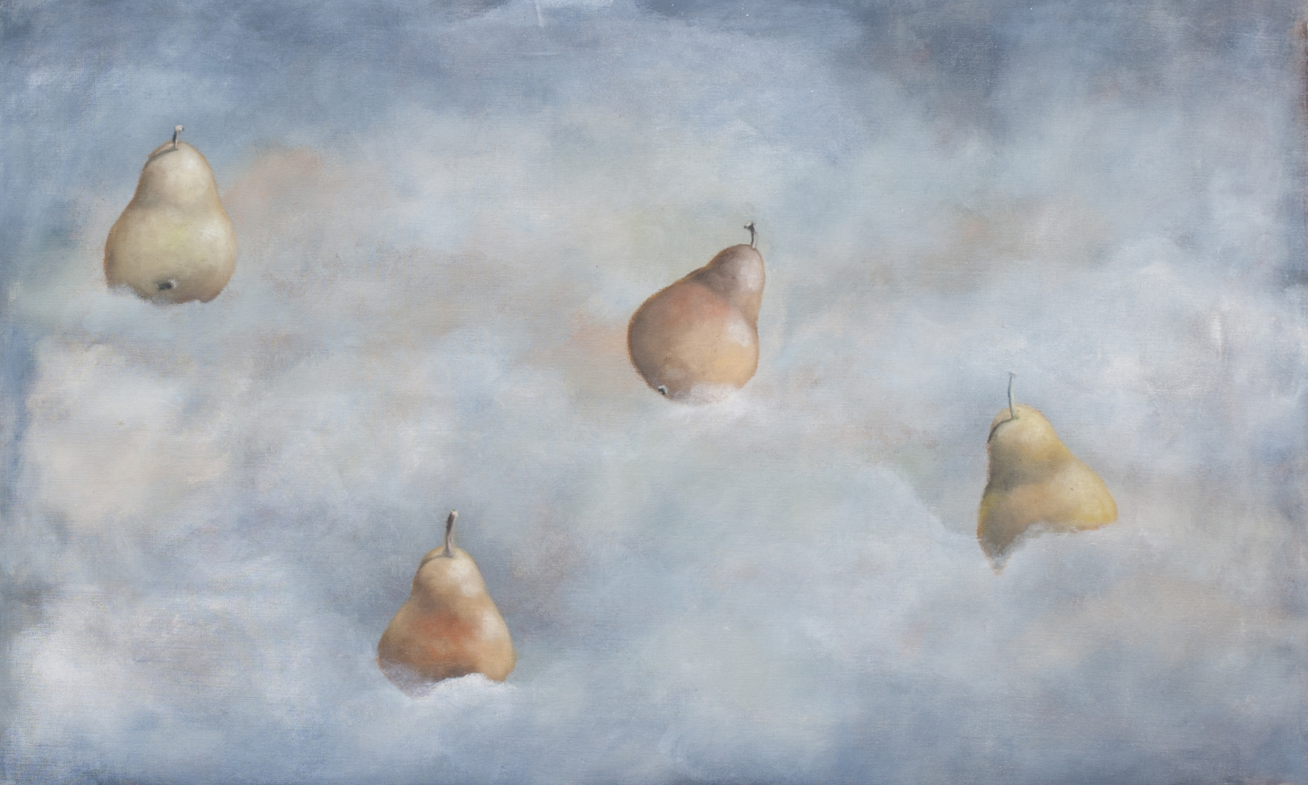 Carol Anthony Background flying pears